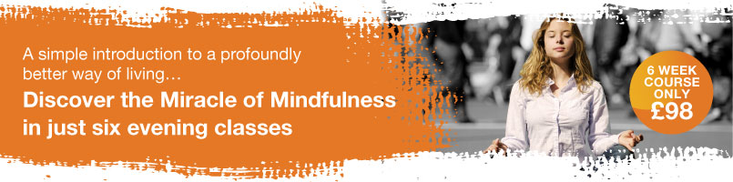 Miracle of Mindfulness London Classes