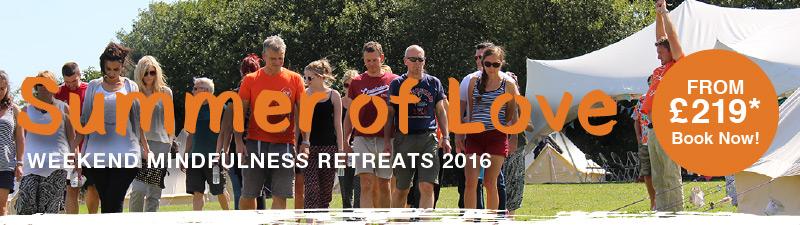 Mindfulness Retreats Summer of Love 2016