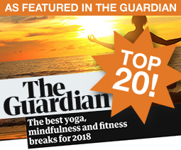 Retreats featured in The Guardian's Top 20!