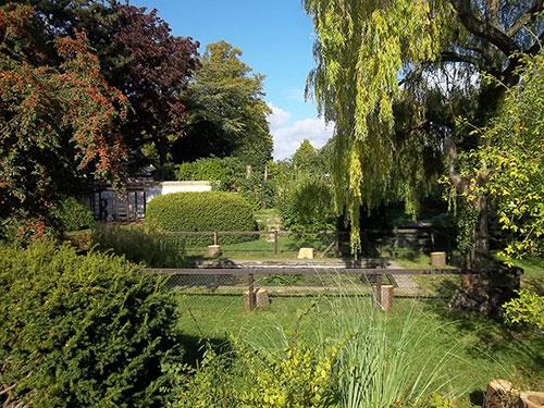 Burwell House pond